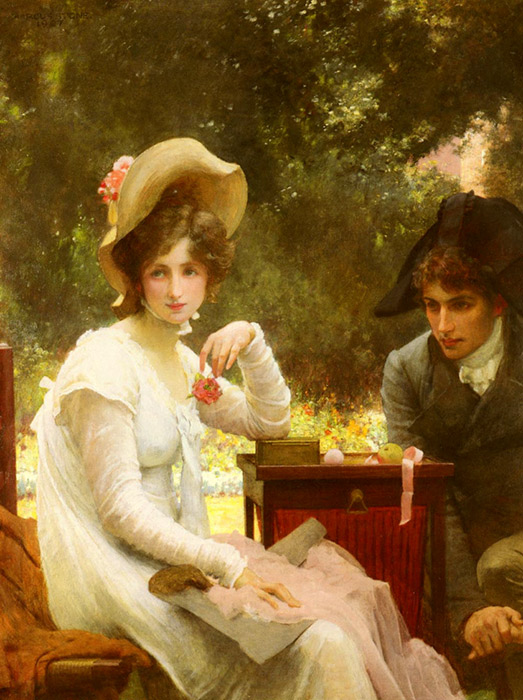 In Love, 1907  Painting Reproductions