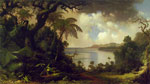 Heade, Martin Johnson View from Fern Tree Walk, Jamaica, c.1870 Art Reproductions
