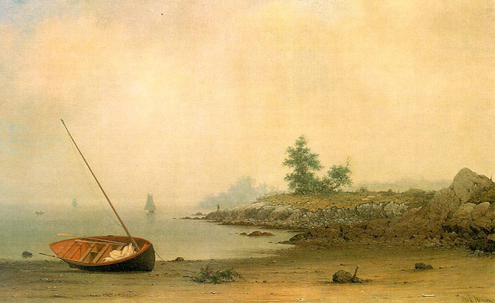 The Stranded Boat, 1863  Painting Reproductions