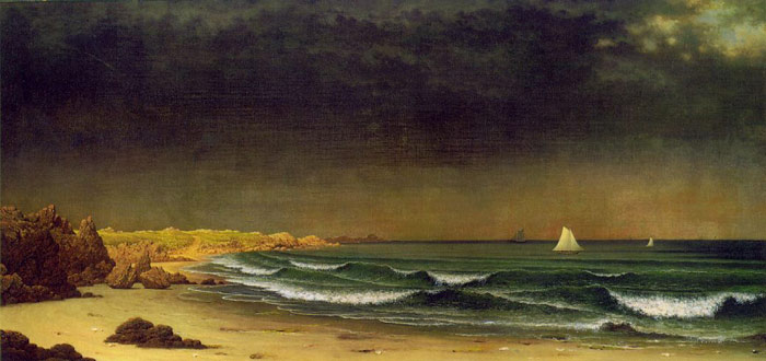 Approaching Storm, Beach Near Newport, c.1866-1867  Painting Reproductions