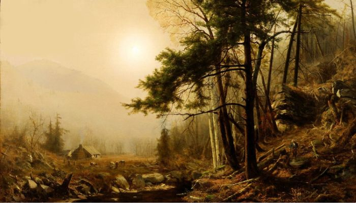 Indian Summer, 1860  Painting Reproductions