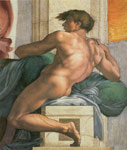 Michelangelo, Buonarroti Ceiling of the Sistine Chapel, 1508-1512 Art Reproductions