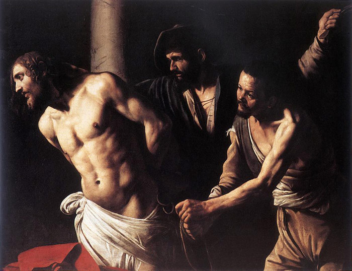 Christ at the Column, c.1607  Painting Reproductions