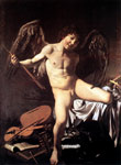 1415 Amor Victorious, 1602-1603 Art Reproductions