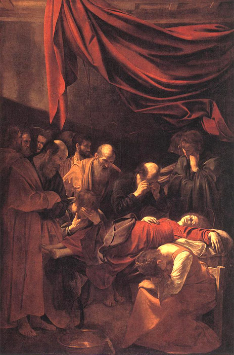 The Death of the Virgin, 1606  Painting Reproductions
