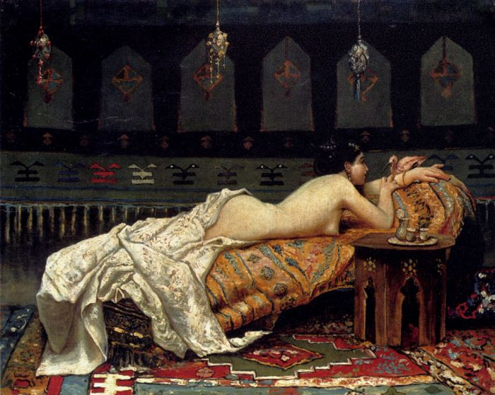 Odalisque, 1873  Painting Reproductions