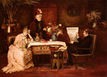 Munkacsy, Mihaly von Trop De Belle-Mere [Enough, dear mother!] Art Reproductions