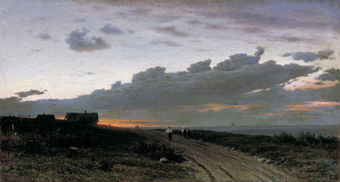 Evening in the Forest, 1874  Painting Reproductions