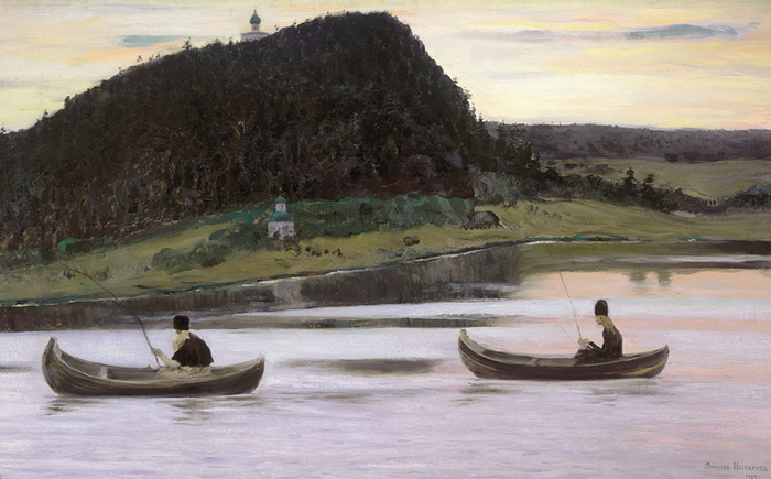 Silence. 1903  Painting Reproductions