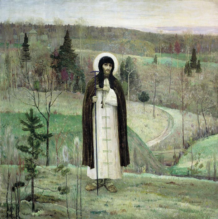 The Holy Sergiy Rodonejskiy. 1899  Painting Reproductions