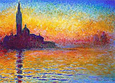 San Giorgio Maggiore at Dusk  Painting Reproductions
