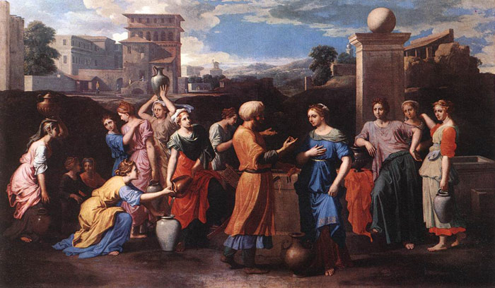 Rebecca at the Well, c.1648  Painting Reproductions