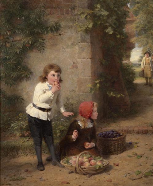 Stolen fruit is the sweetest  Painting Reproductions
