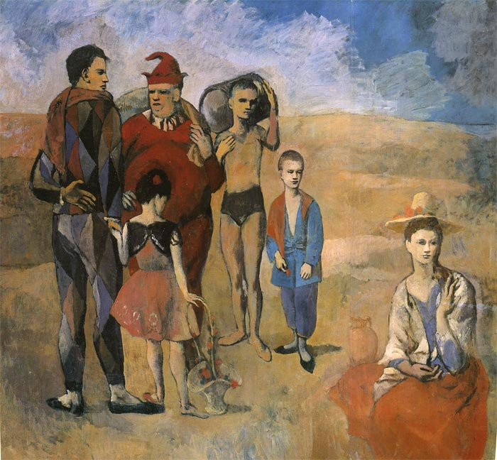 Comedians, 1905 Picasso, Pablo Painting Reproductions