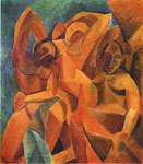 Surrealism, Cubism Paintings, Hand Painted on canvas
