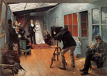 Dagnan-Bouveret, Pascal-Adolphe Une Noce chez le photohraphe [Wedding Party at the Photographer's Studio], 1878-1879 Art Reproductions