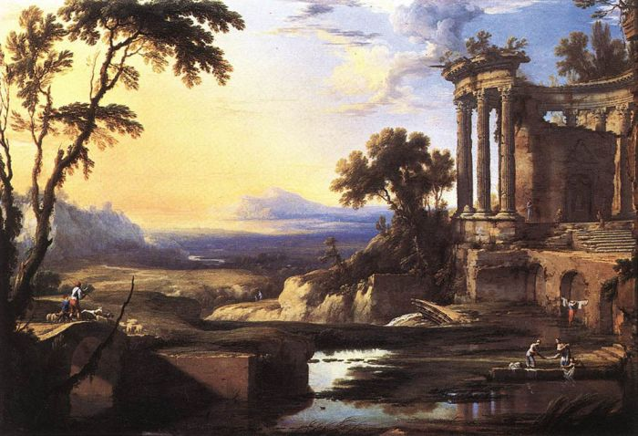 Landscape with Ruins  Painting Reproductions
