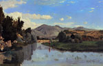 Guigou, Paul-Camille The Aiguebrun River at Lourmarin, 1867 Art Reproductions
