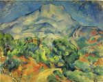 Cezanne, Paul Mont Sainte -Victoire , 1898 Art Reproductions