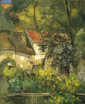 Cezanne, Paul The House of Pere Lacroix in Auvers, 1873 Art Reproductions