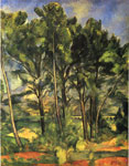 Cezanne, Paul Trees, 1887 Art Reproductions