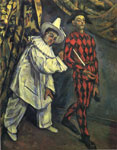 Cezanne, Paul Pierrot and Harlequin , 1888 Art Reproductions