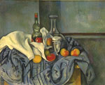 Cezanne, Paul Still Life with Bottles, 1894 Art Reproductions