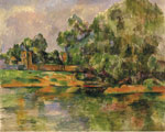 Cezanne, Paul River Coast, 1895 Art Reproductions
