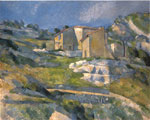 Cezanne, Paul A House in the Provence, 1880 Art Reproductions