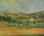 Cezanne, Paul Sainte- Victoire  Mountain, 1885 Art Reproductions
