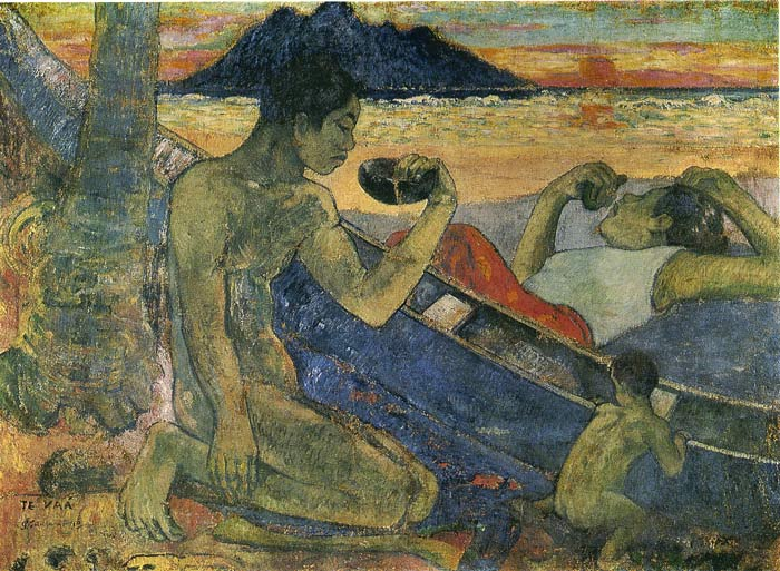 The Canoe, 1896  Painting Reproductions