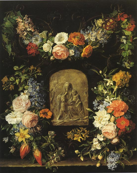 Blumenkranz, 1834  Painting Reproductions
