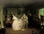 Fedotov, Pavel Andreevich The Major?s Marriage, 1848 Art Reproductions