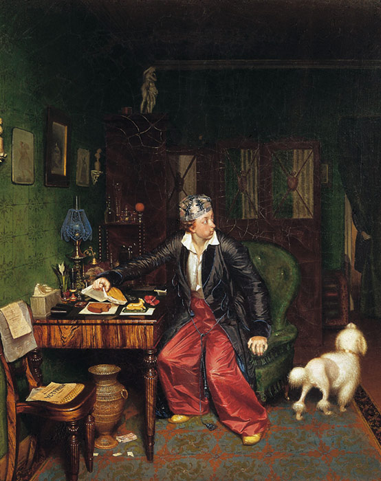 Aristocrat's brakfast, 1848  Painting Reproductions