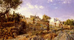 Monsted, Peder Mork A View Of Anacapri, 1885 Art Reproductions