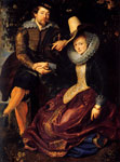 Rubens, Peter Paul Self-portrait With Isabella Brant, 1610 Art Reproductions
