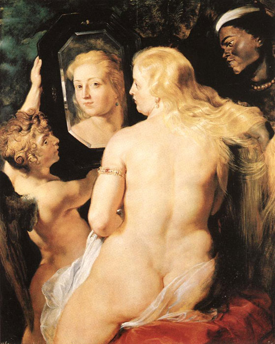 Venus at a Mirror, c.1615  Painting Reproductions