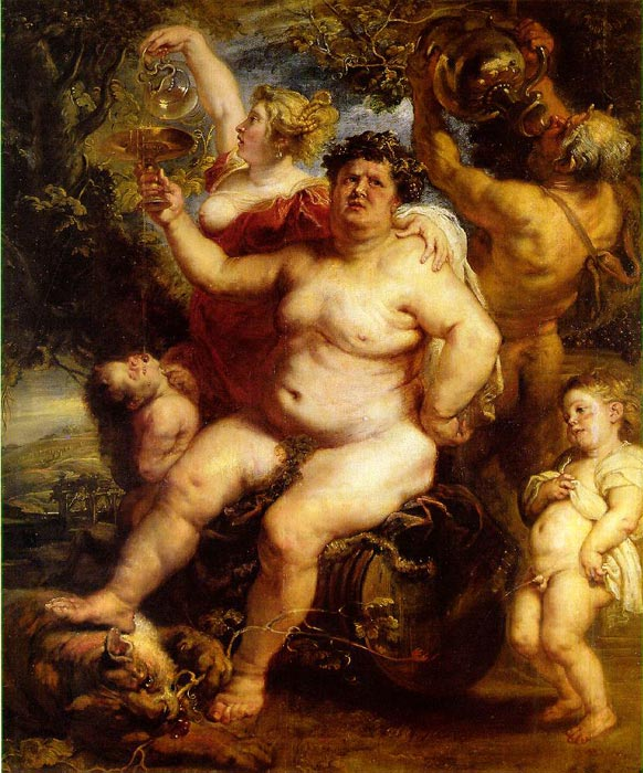 Bacchus, 1638-1640  Painting Reproductions