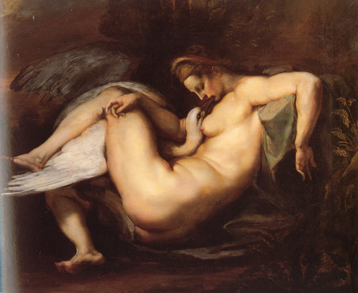 Leda and the Swan, c.1598-1600  Painting Reproductions