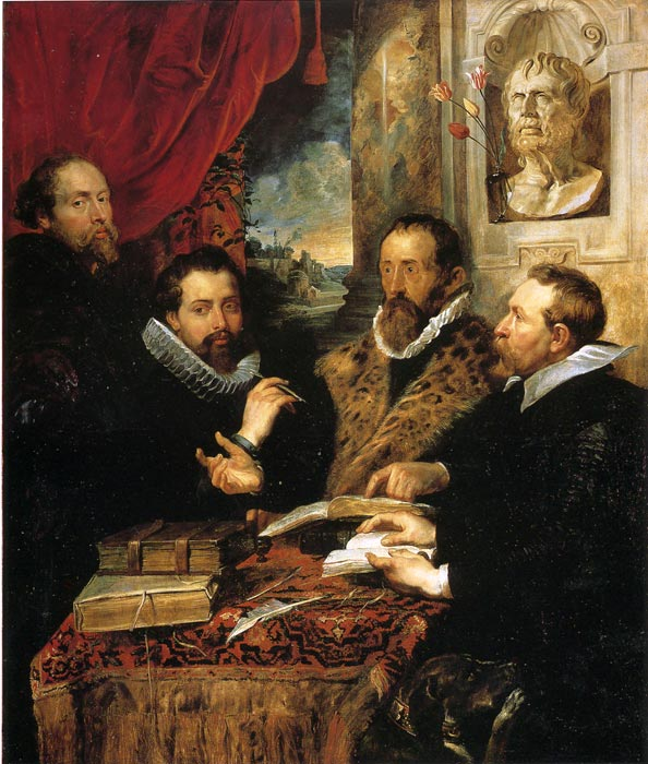 Four Philosophers, 1614  Painting Reproductions