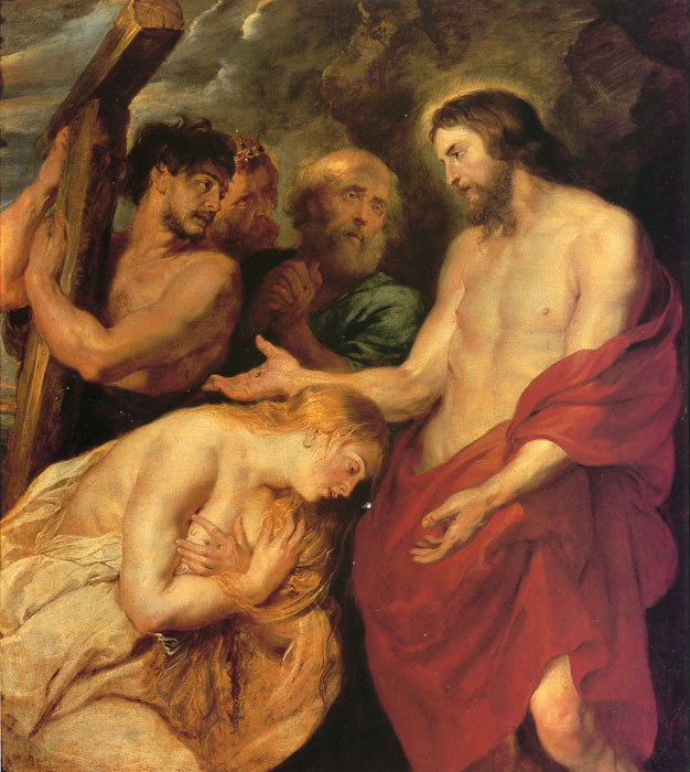 Christ After the Punishment, 1620 Rubens, Peter Paul Painting Reproductions