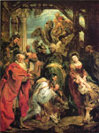 Adoration of the Mages, 1624 Art Reproductions