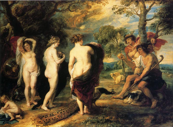 The Judgment of Paris, 1636  Painting Reproductions