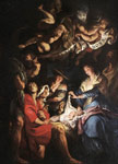 Adoration of the Shepherds, c.1608 Art Reproductions