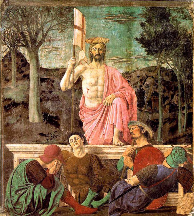 Resurrection, 1463-1465  Painting Reproductions