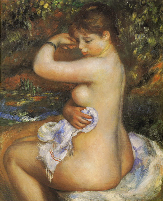 After the Bath, 1888  Painting Reproductions