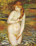 Renoir, Pierre Auguste The Bather, 1888 Art Reproductions
