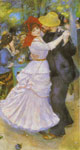 Renoir, Pierre Auguste Dance at Bougival, 1883 Art Reproductions
