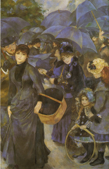 The Umbrellas, 1883 Renoir, Pierre Auguste Painting Reproductions