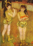 Renoir, Pierre Auguste Circus Girls, 1879 Art Reproductions